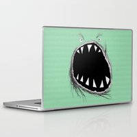 monster Laptop & iPad Skins featuring monster by Кaterina Кalinich