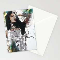 Wonder Abstract Portrait Stationery Cards