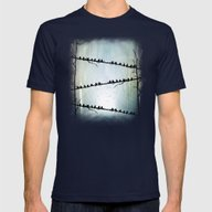 Barricade Mens Fitted Tee Navy SMALL