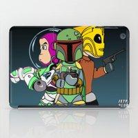 Jetpack Buddies iPad Case