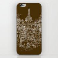 Paris! iPhone & iPod Skin