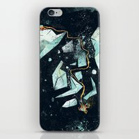 Climbing The Crevasse iPhone & iPod Skin