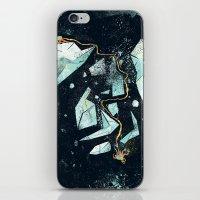 Climbing the Crevasse iPhone & iPod Skin