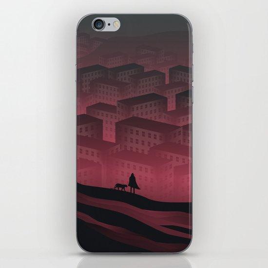 Sleeping Town iPhone & iPod Skin