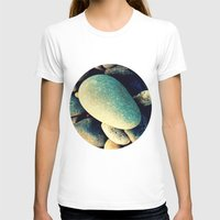 Pebbles  Womens Fitted Tee White SMALL