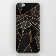 Black Night iPhone & iPod Skin