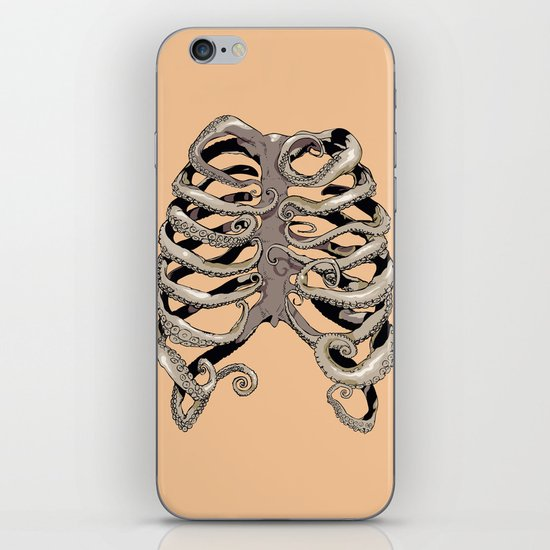 Your Rib is an Octopus iPhone & iPod Skin