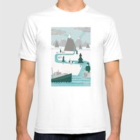I like water Mens Fitted Tee White SMALL