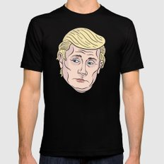 Trumputin Black Mens Fitted Tee SMALL