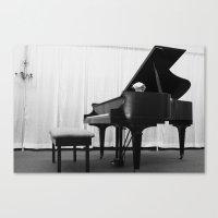 Piano Canvas Print