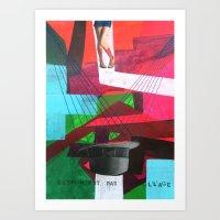 Ceci N´est Pas Un Colla… Art Print