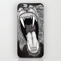 Roar! iPhone & iPod Skin