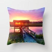 Litchfield Sunset Throw Pillow