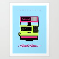 Cool Cam Polaroid Art Print