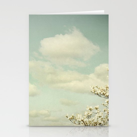 Feeling Lighter Than Air Stationery Card