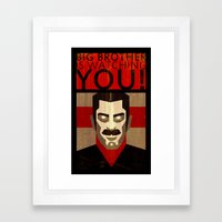 Ingsoc Framed Art Print