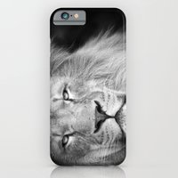 iPhone Cases featuring Lion by Simon's Photography