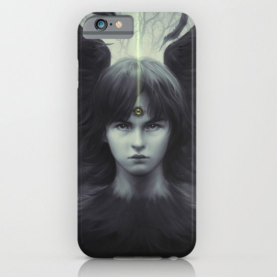 Eye of Raven iPhone & iPod Case
