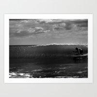 Surf Crab Art Print