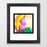 Passionate Fruits Framed Art Print