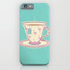 Flamingo tea iPhone 6s Slim Case