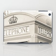 London telephone booth iPad Case