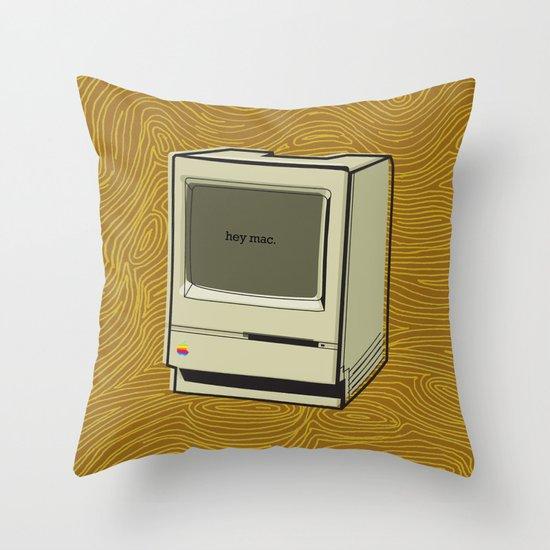 maco2 Throw Pillow