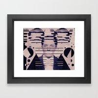 Vintage Man Framed Art Print
