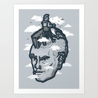 lawnmohawk Art Print