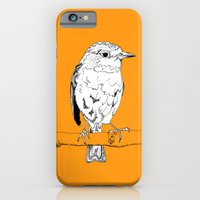 iPhone & iPod Case featuring European Robin by Greg1219