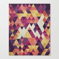 Geometri III Canvas Print