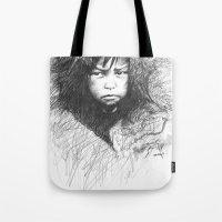 Inuit Boy Tote Bag