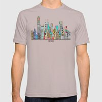 Memphis City Mens Fitted Tee Cinder SMALL