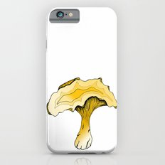 Chanterelle Mushroom, Hand drawn, Pen and Ink, Food, Nature Slim Case iPhone 6s