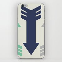 Arrow, Arrow, Arrow. What's going on 'ere then? iPhone & iPod Skin