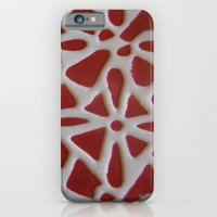 Red Stone Path iPhone 6 Slim Case