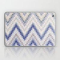 PURPLE SEVENTIES CHEVRON Laptop & iPad Skin