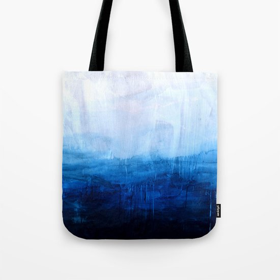 All good things are wild and free - Ocean Ombre Painting Tote Bag