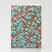 Hand Drawn and Digital Pattern Print Stationery Cards