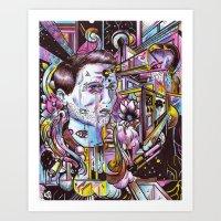 An Attempt To Construct … Art Print