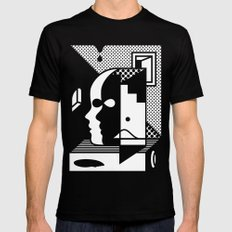 Stairs To The Attic Mens Fitted Tee Black SMALL