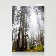 Curtain Of Fog Stationery Cards