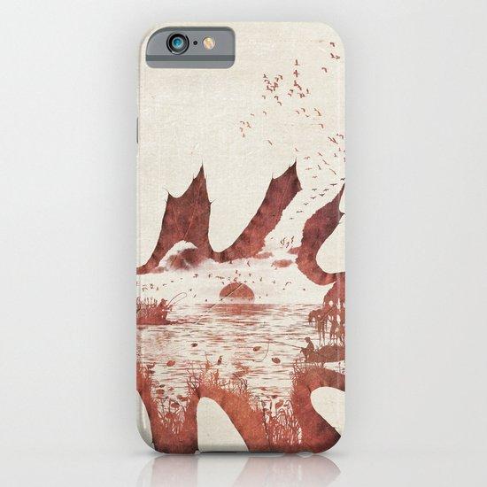 Autumn morning iPhone & iPod Case