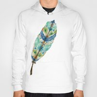 Seaside Feather Hoody