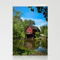 Old Red Grist Mill Stationery Cards