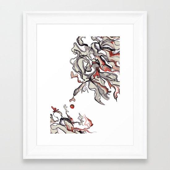 Apple of Discord Framed Art Print