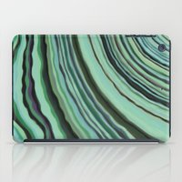 Mineralicious~Mint Tourm… iPad Case