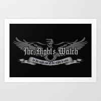 The Night's Watch Art Print
