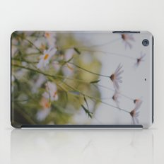 Abstract Flowers iPad Case