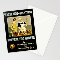 Waste Not Want Not Stationery Cards